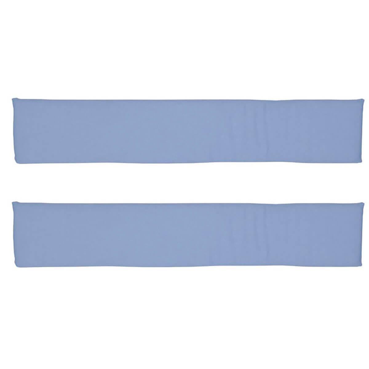 2 Zargenpolster DELUXE de Breuyn in hellblau