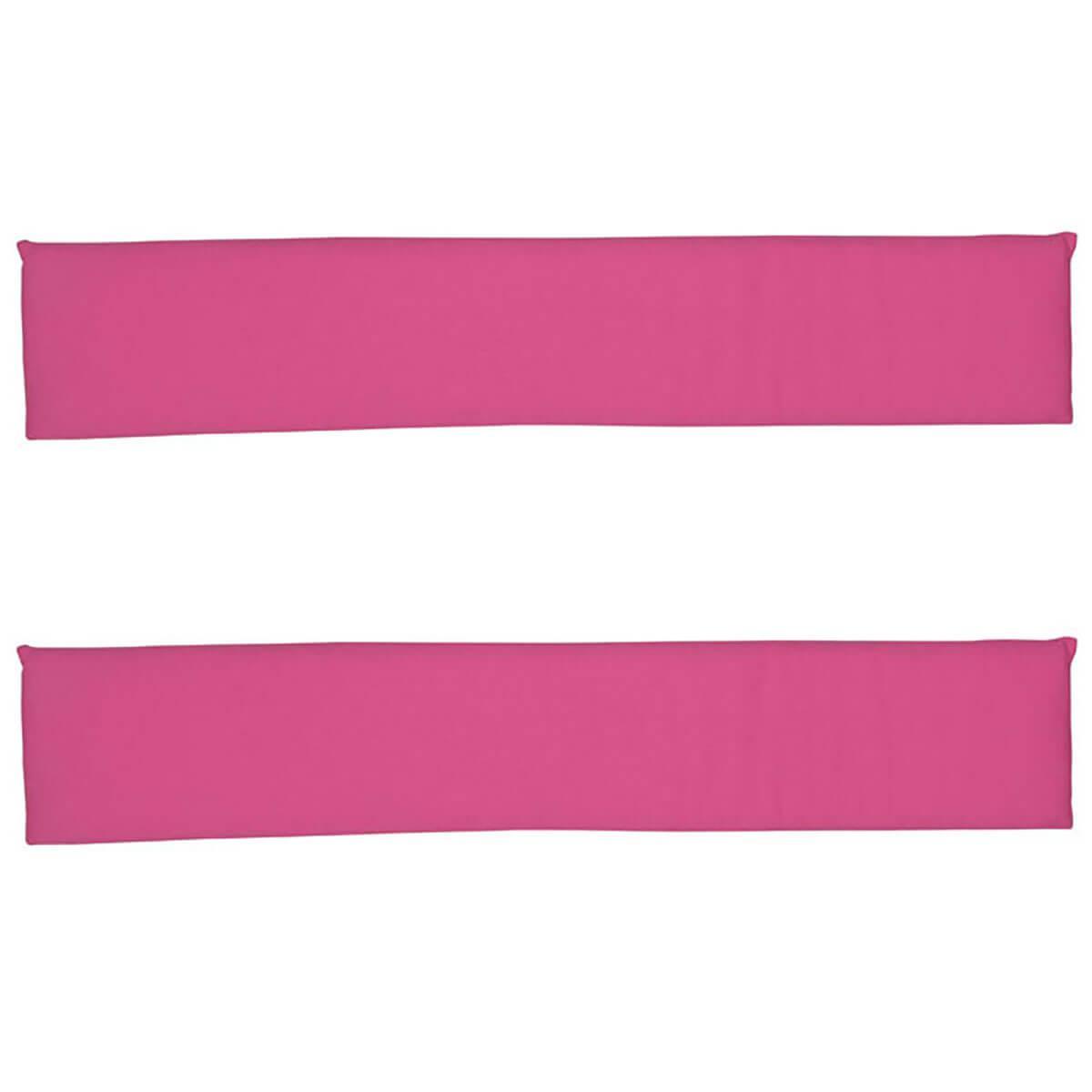 2 Zargenpolster DELUXE de Breuyn in rosa