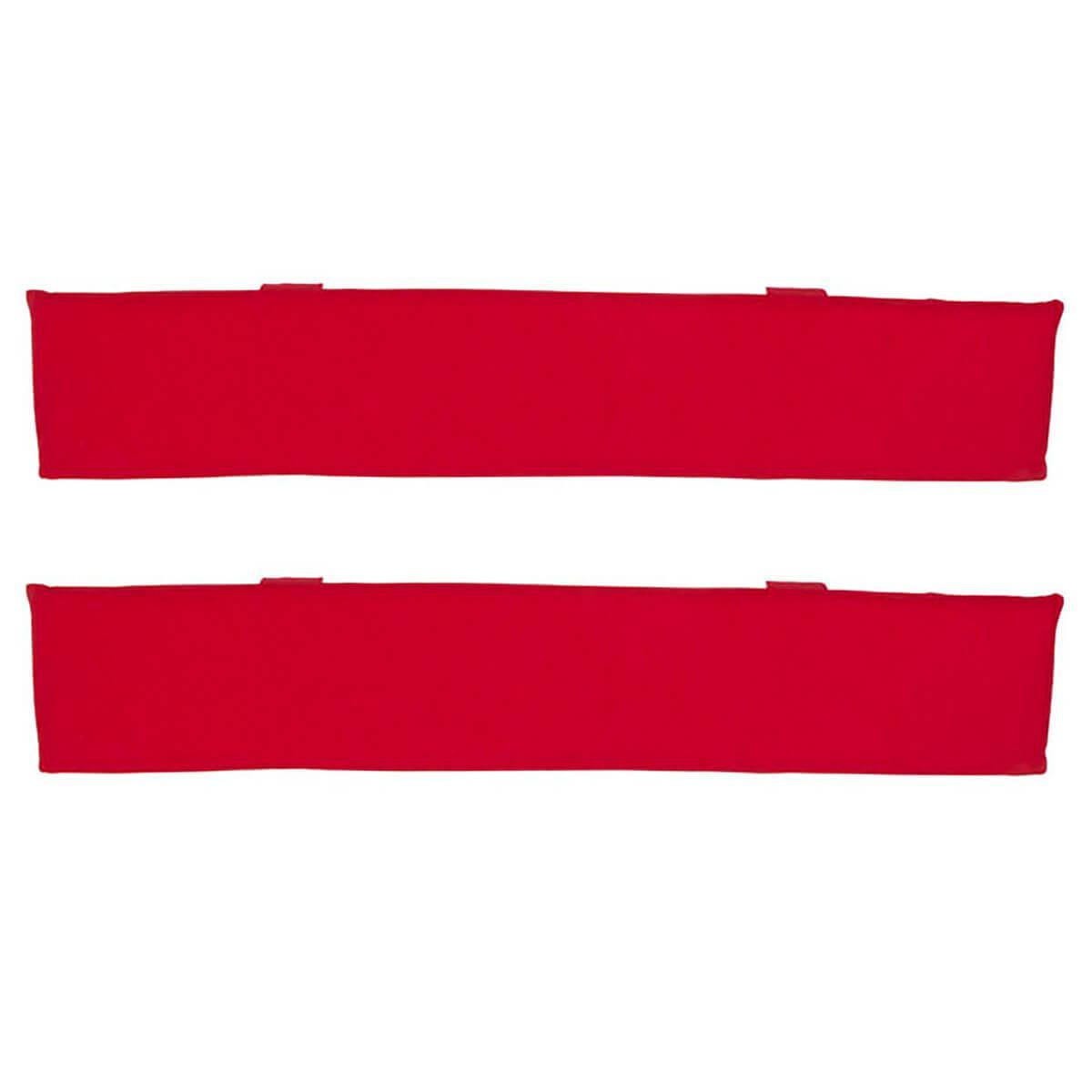 2 Zargenpolster DELUXE de Breuyn in rot