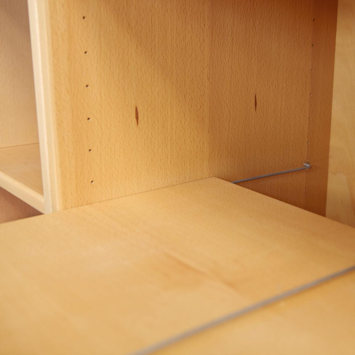 2/3 Kleiderschrankboden für 621 DELUXE Debreuyn Buche natur geölt