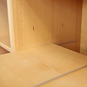 2/3 Kleiderschrankboden für 621A DELUXE Debreuyn Buche natur geölt