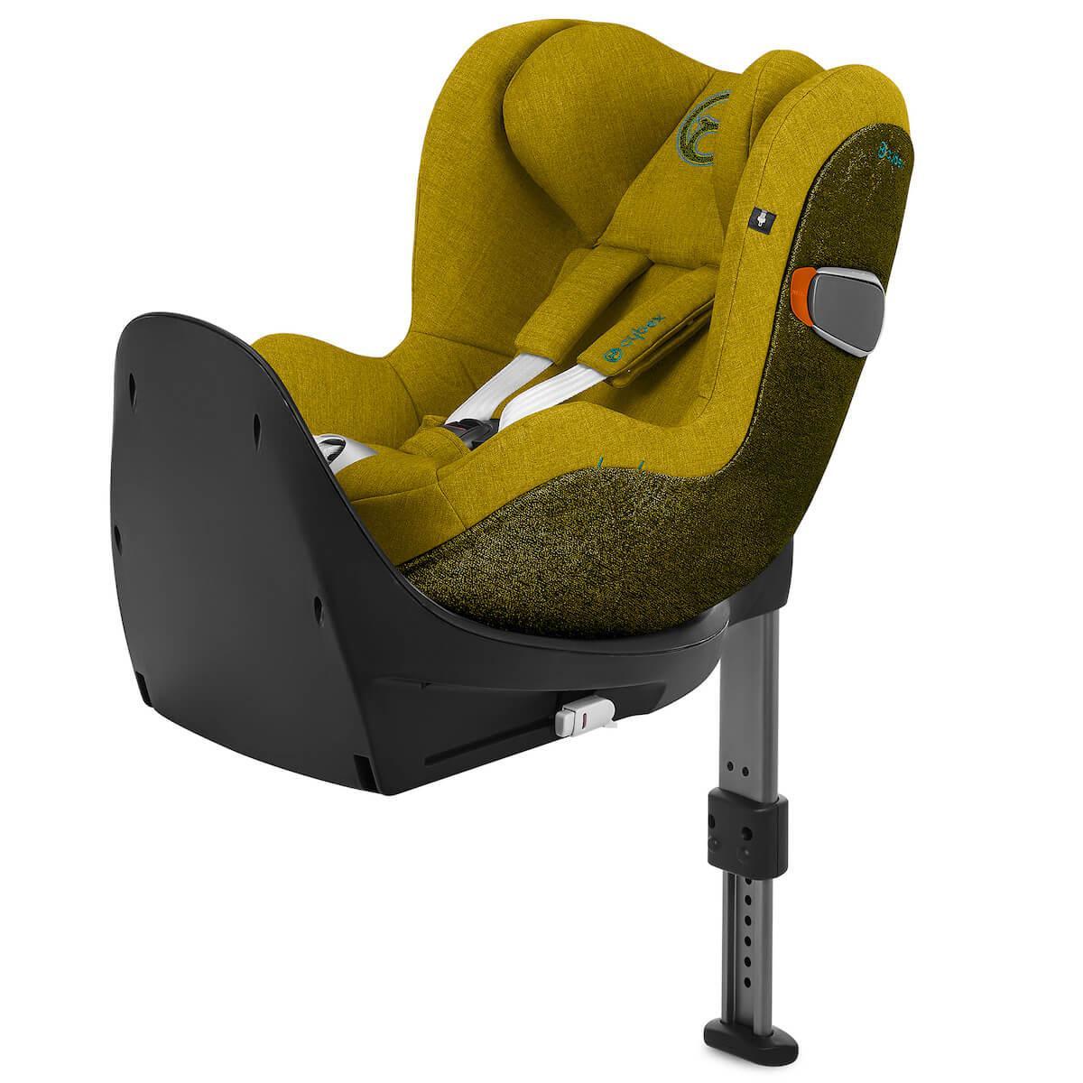 Autositz gr0+/1 SIRONA Zi I-SIZE PLUS Cybex Mustard Yellow