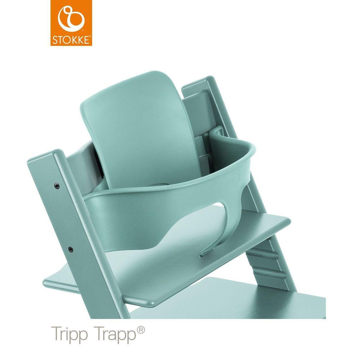 Baby Set Hochstuhl TRIPP TRAPP Stokke aqua blue