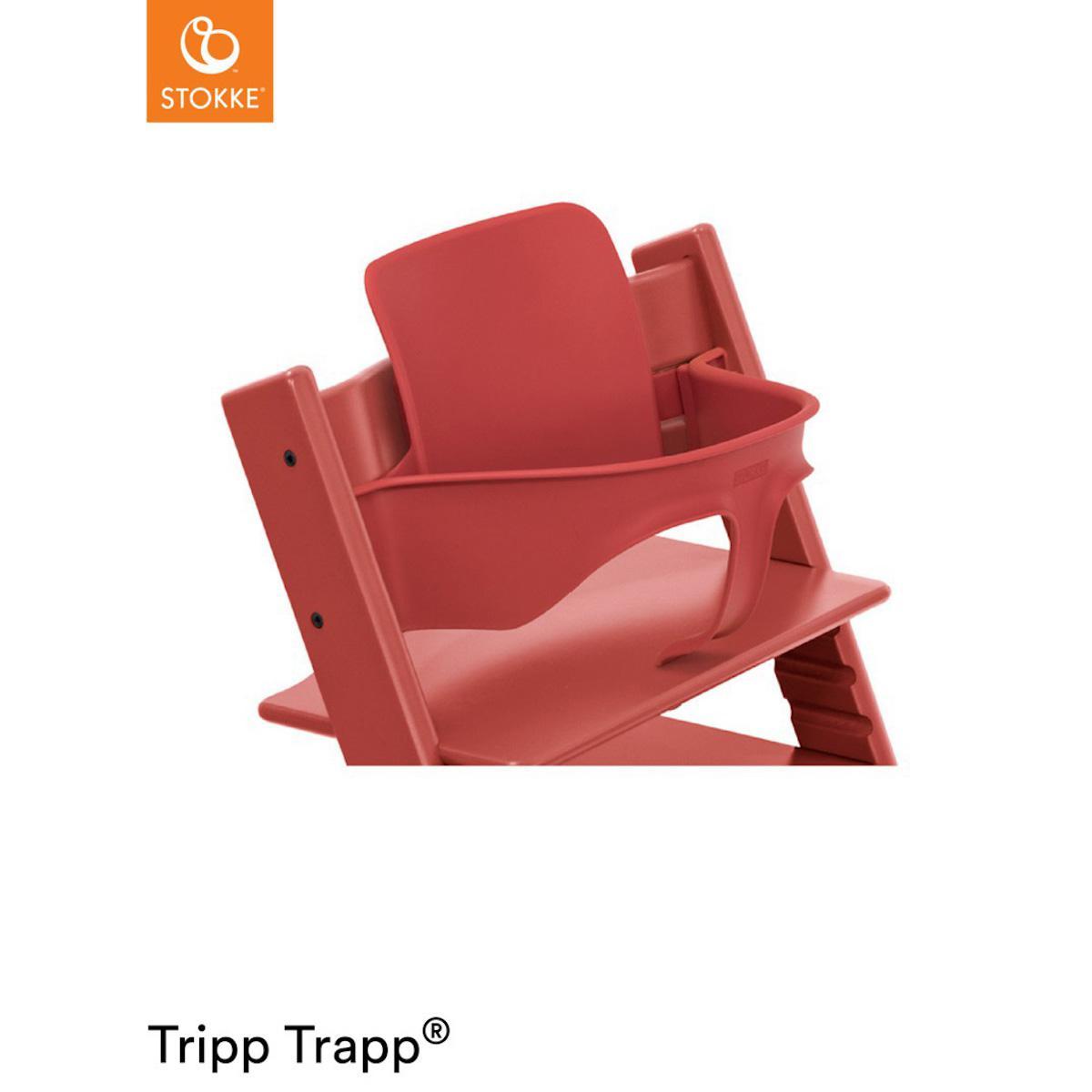 Baby Set Hochstuhl TRIPP TRAPP Stokke Warm Red