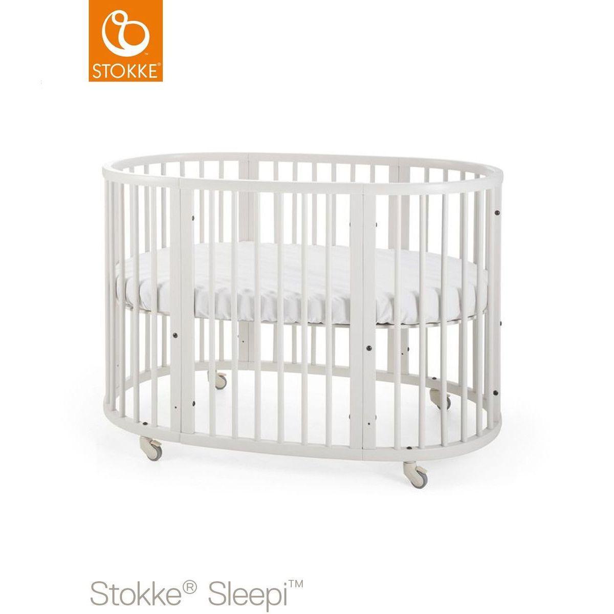 Babybett mitwachsend 120cm SLEEPI Stokke white