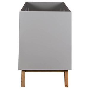 Babybett mitwachsend 60x120cm TRENDY Quax griffin grey