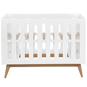 Babybett mitwachsend 60x120cm TRENDY Quax weiß