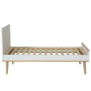 Babybett mitwachsend 70x140cm FLOW Quax Chêne naturel-blanc