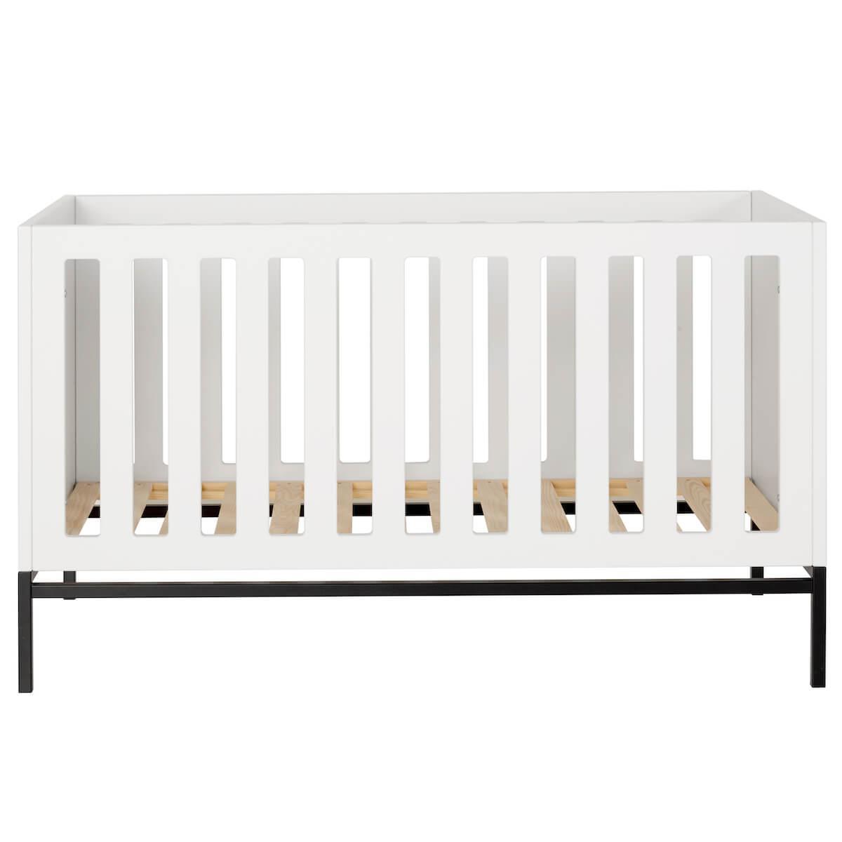 Babybett mitwachsend 70x140cm HAVANA Quax weiß