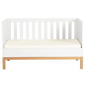 Babybett mitwachsend 70x140cm INDIGO Quax weiß
