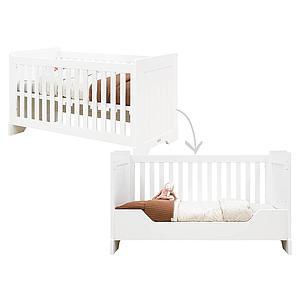 Babybett mitwachsend 70x140cm NARBONNE Bopita Weiß