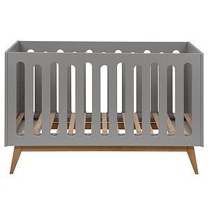 Babybett mitwachsend 70x140cm TRENDY Quax griffin grey