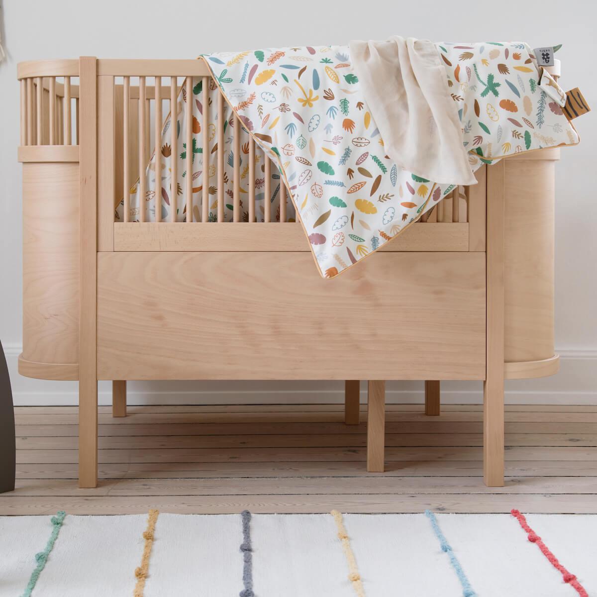 Babybett mitwachsend Sebra Holz natural