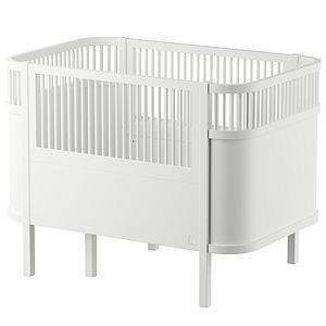 Babybett mitwachsendSebra weiß
