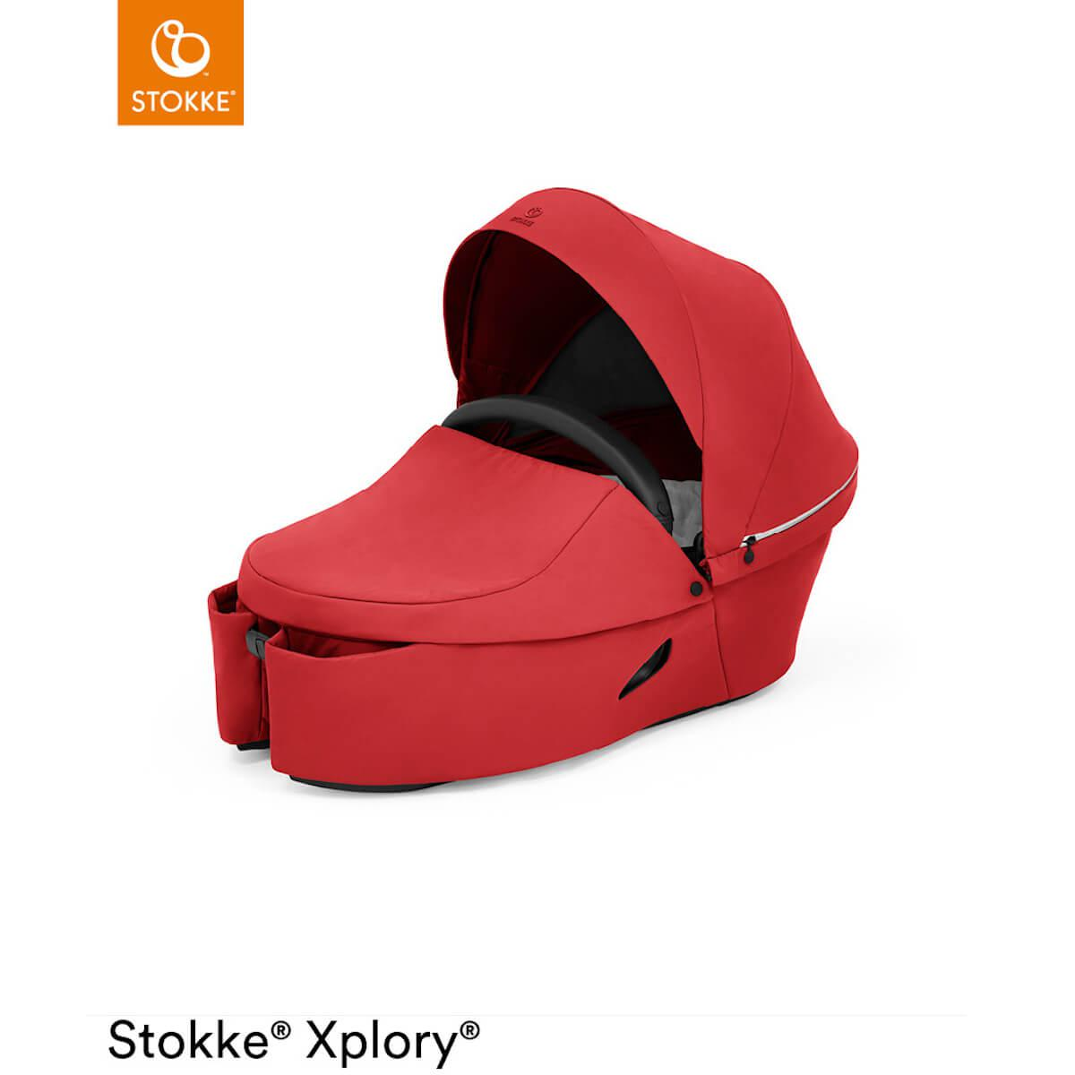 Babyschale XPLORY X Stokke Ruby Red