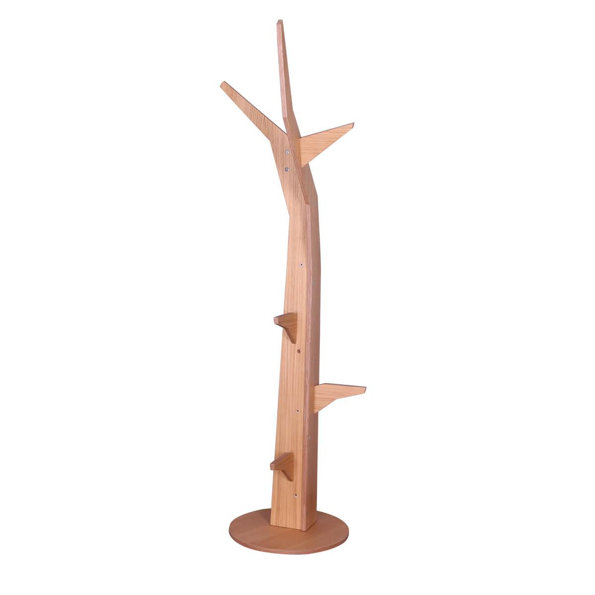 Baum freistehend-Bodenplatte KASVA Debreuyn Multiplex furniert Eiche-geölt
