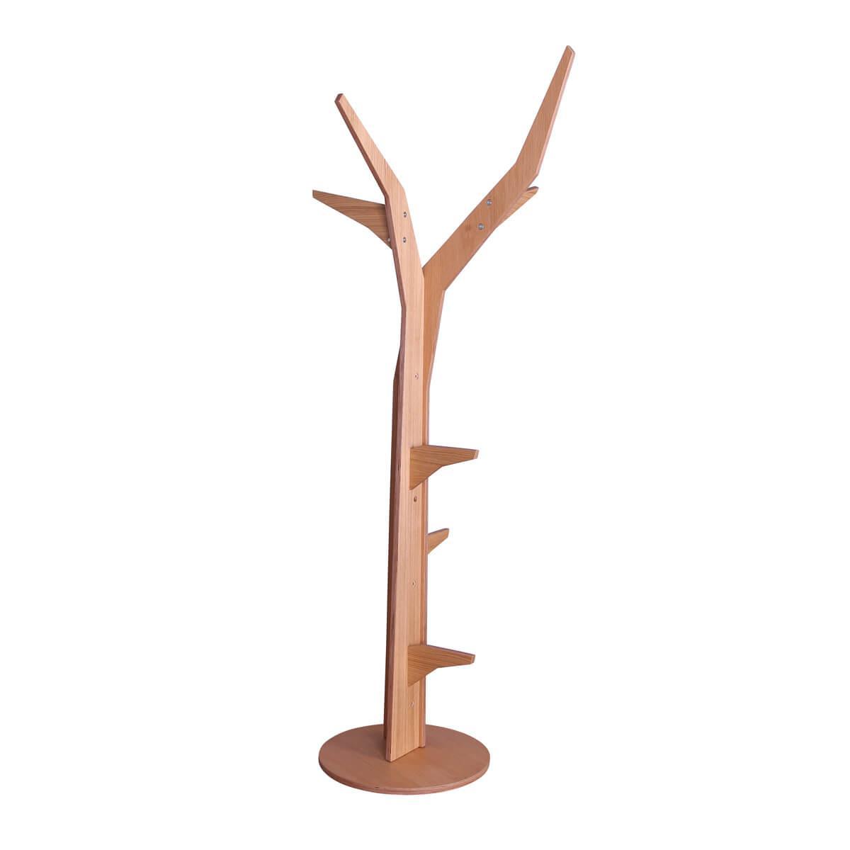 Baum freistehend-Bodenplatte KASVA Multiplex furniert Eiche-geölt