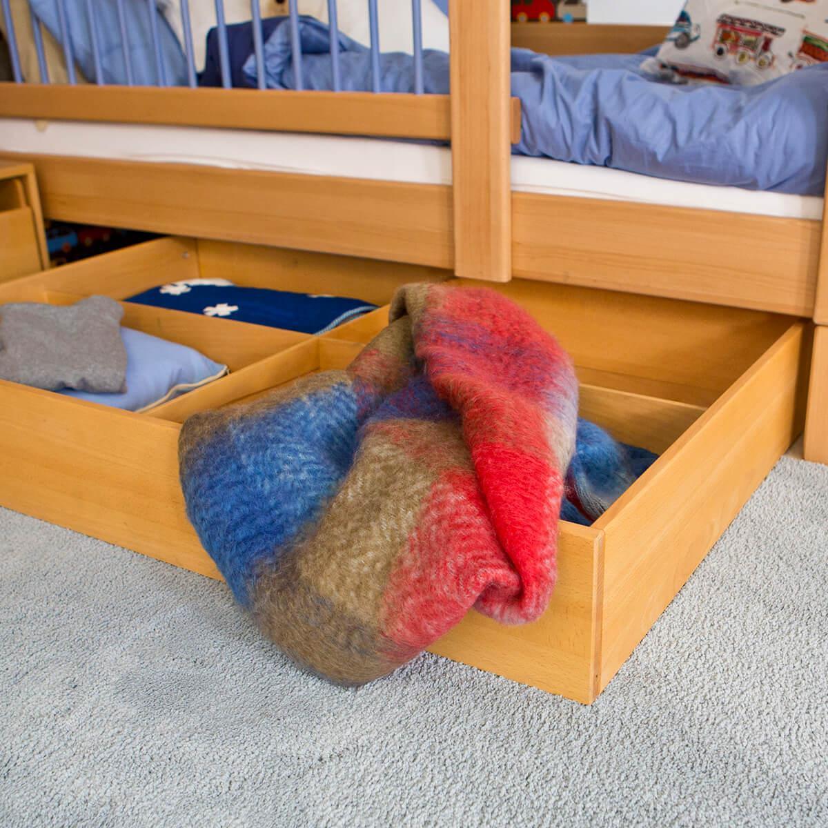 Bettkasten gross DELUXE Debreuyn  Buche  geölt