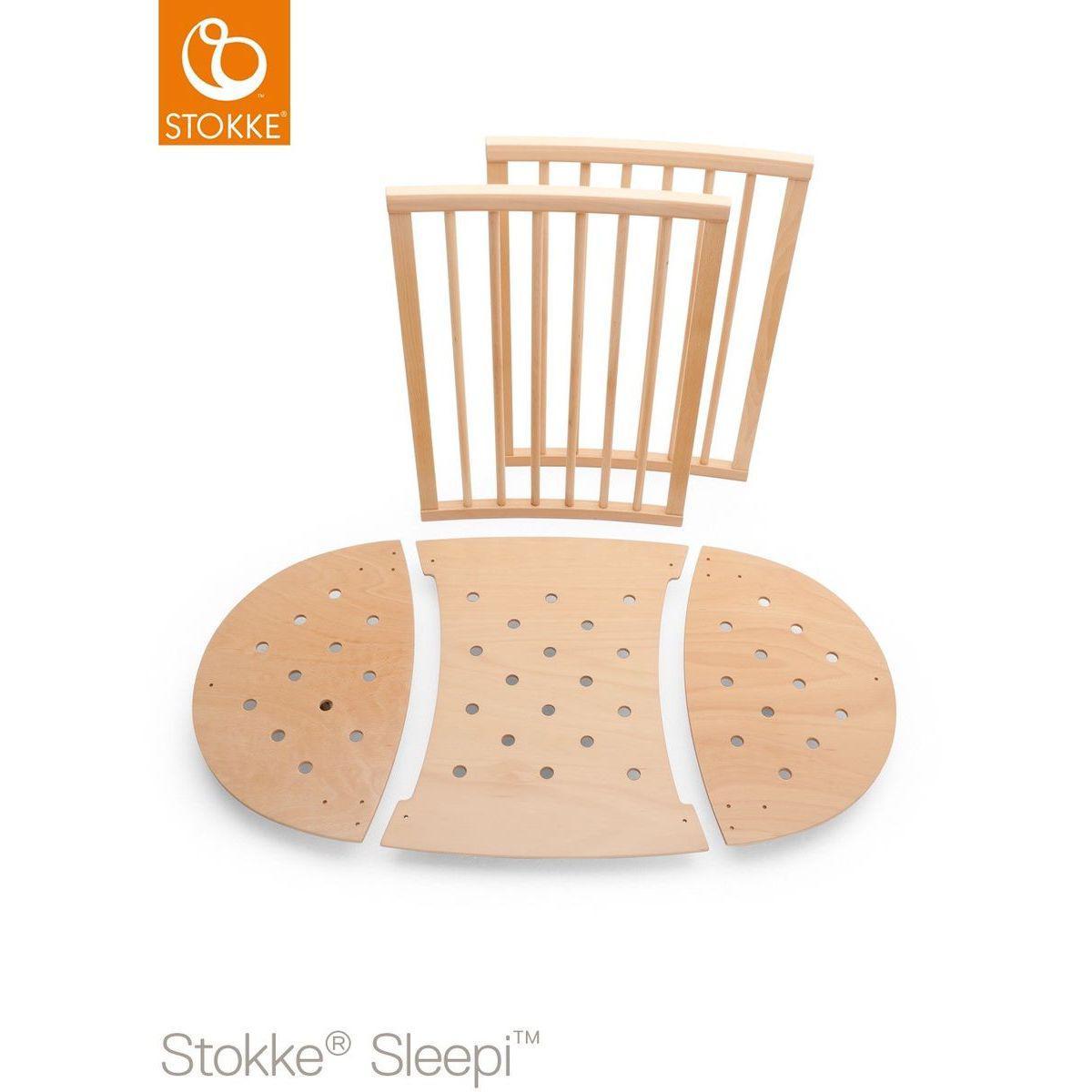 Bettverlängerung Babybett SLEEPI Stokke natural