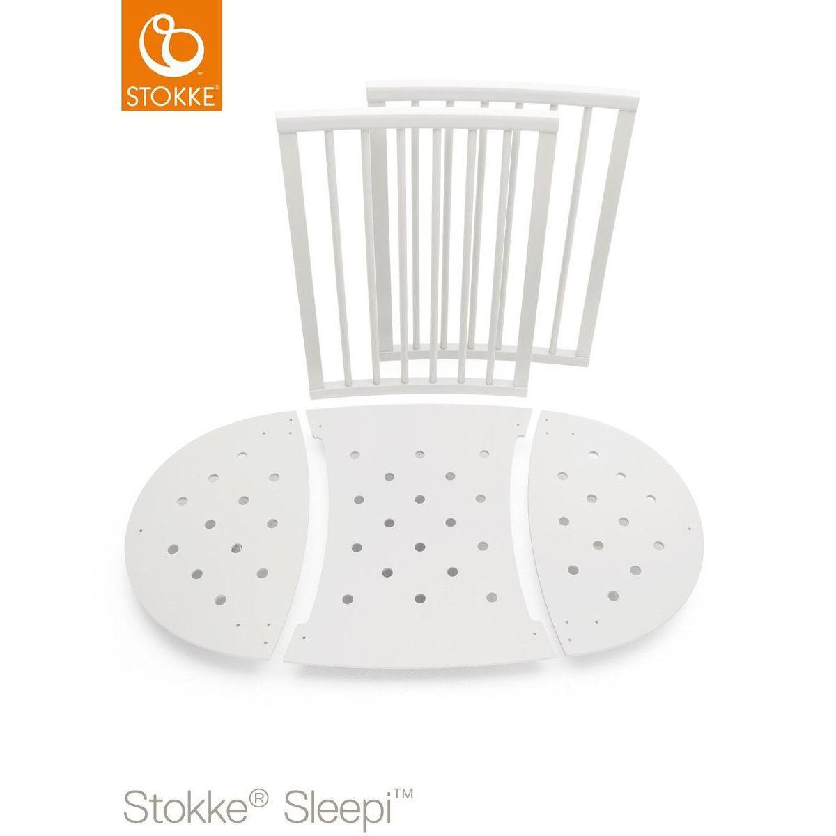 Bettverlängerung Babybett SLEEPI Stokke white