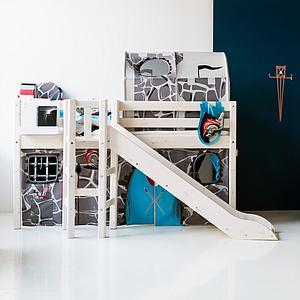 Buchregal für Classic Betten oder Wandbefestigung CLICKON by Flexa