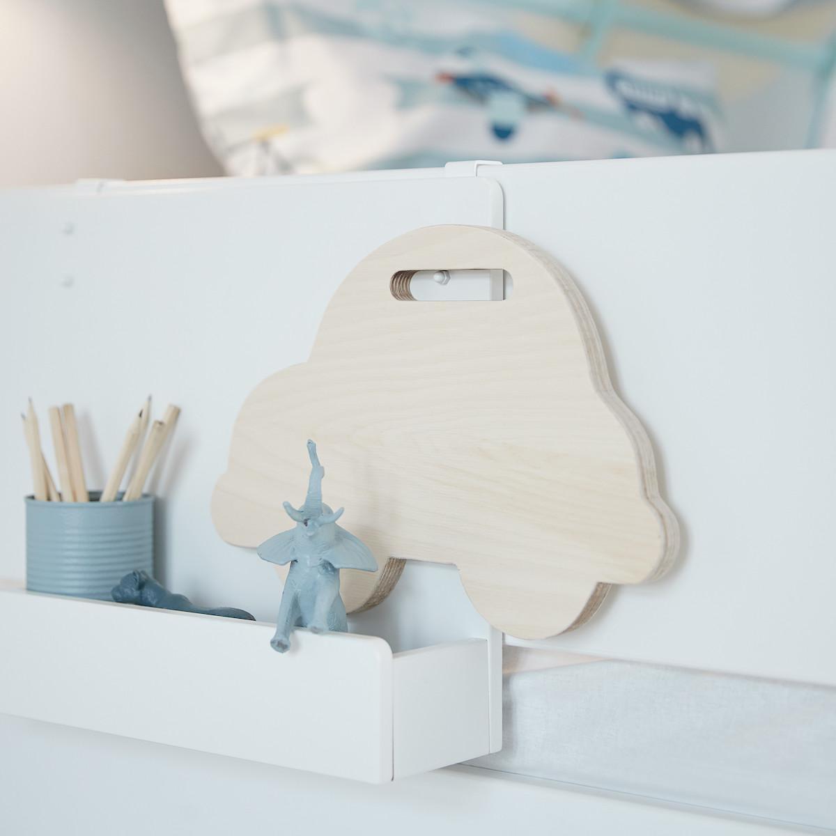Buchregal für White Betten oder Wandbefestigung CLICKON by Flexa