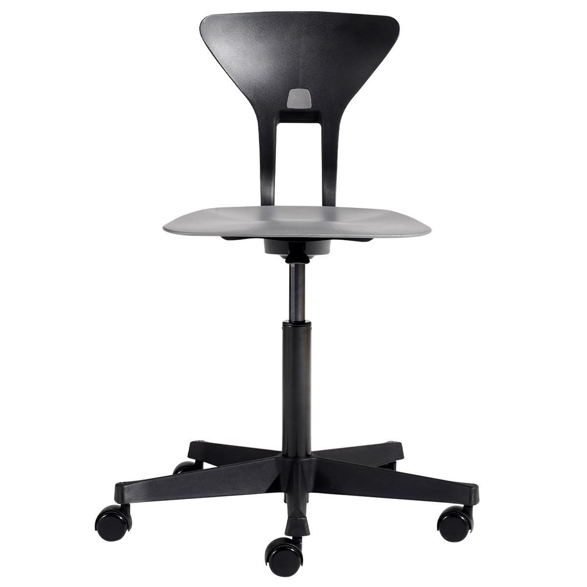 Drehstuhl mit ergonomischer Sitzfläche RAY by Flexa grau