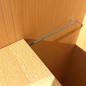 Einlegeboden Kleiderschrank DESTYLE de Breuyn Buchenfurnierte Spanplatte natur geölt