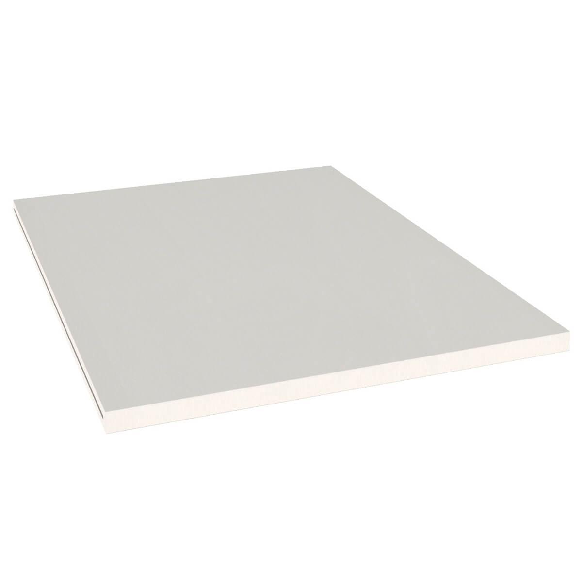 Einlegeboden Kleiderschrank DESTYLE de Breuyn Buchenfurnierte Spanplatte weiß gebeizt-lackiert