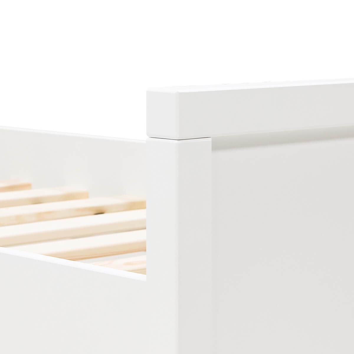 Einzelbett 90x200cm CORSICA Bopita Weiß