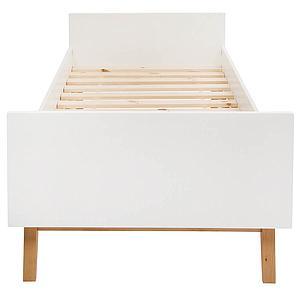 Einzelbett mitwachsend 90x200cm TRENDY Quax weiß