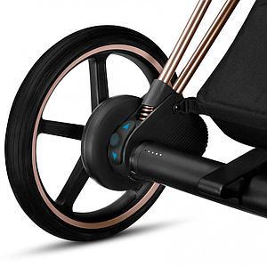 Elektrischer Kinderwagen EPRIAM Cybex chrome-manhattan grey plus