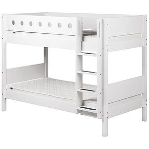 Etagenbett 90x190 WHITE Flexa weiß-weiß