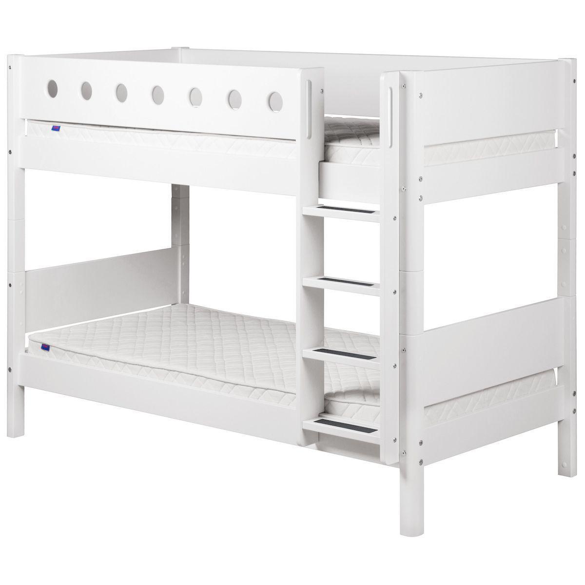 Etagenbett 90x200 WHITE Flexa weiß-weiß