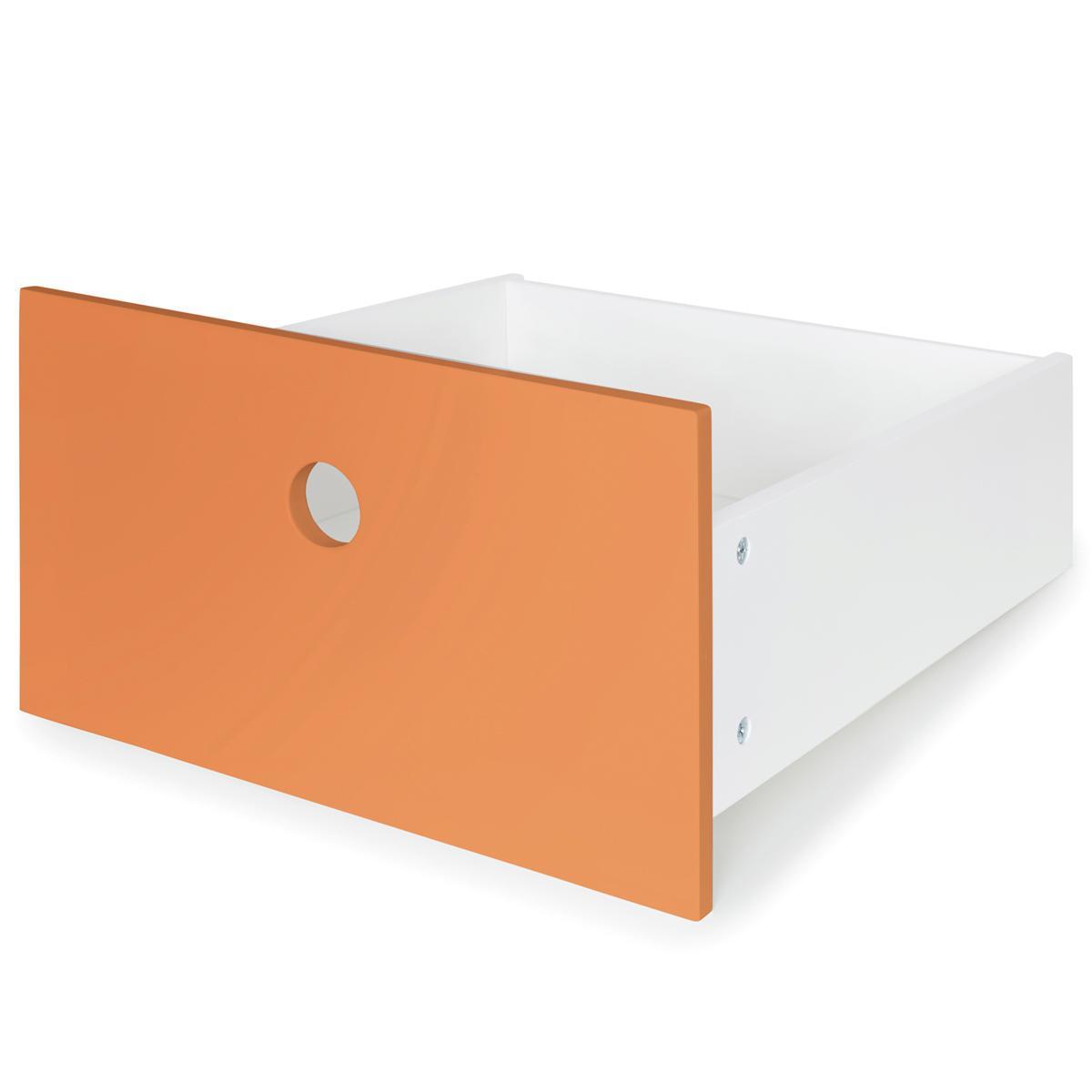 Frontschublade S COLORFLEX Abitare Kids pure orange