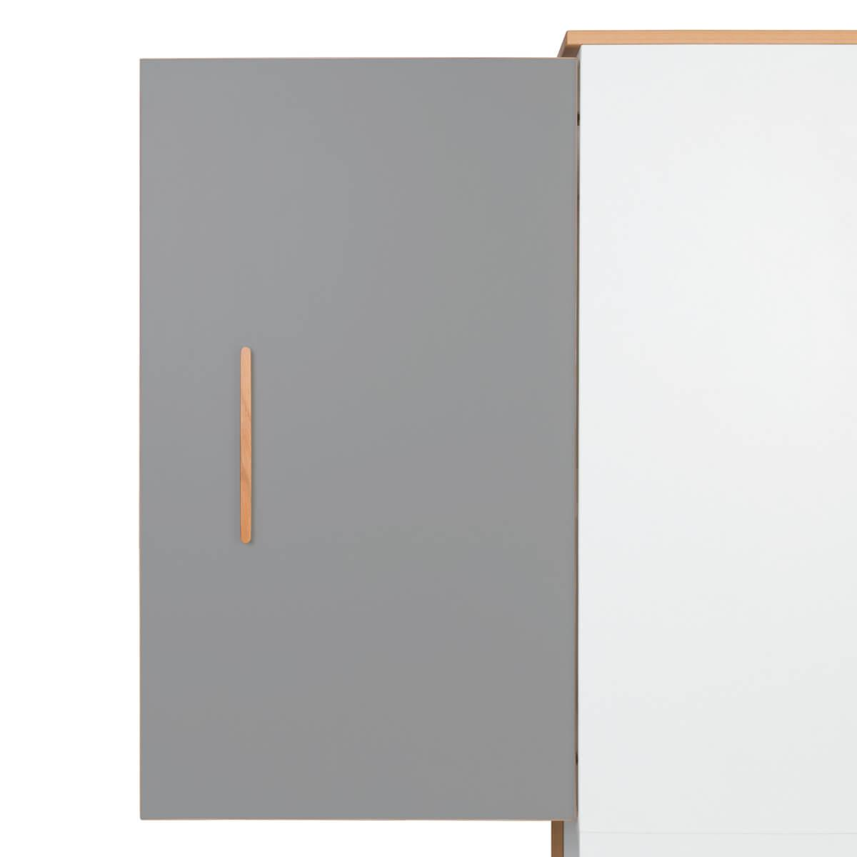 Fronttür L NADO slate grey