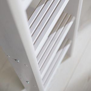 Hochbett XL 140x200cm gerade Leiter CLASSIC Flexa grey washed