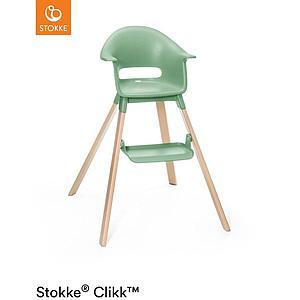 Hochstuhl CLIKK™ Stokke grüner Klee