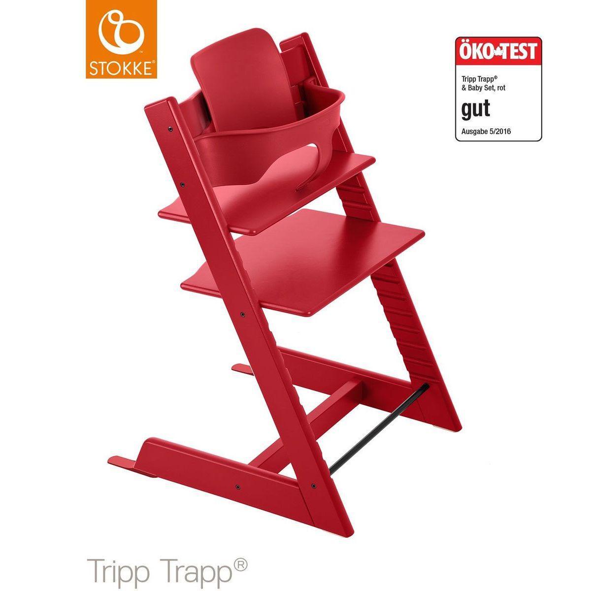 Hochstuhl  TRIPP TRAPP Stokke red