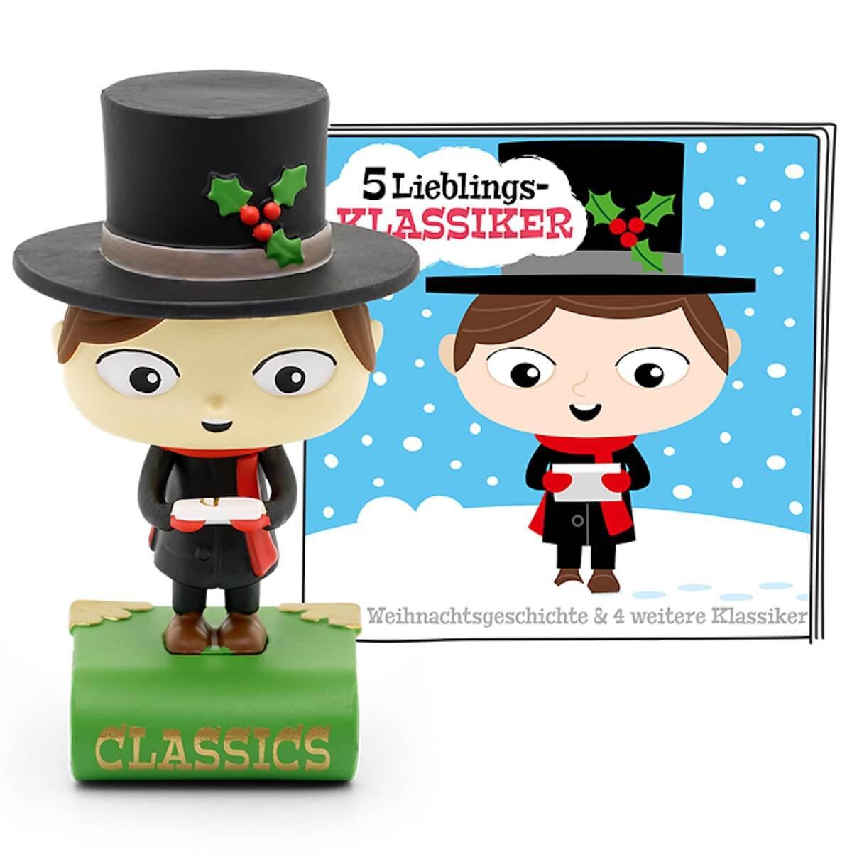 Hörspielfigur TONIES 5 Lieblings-Klassiker Eine Weihnachtsgeschichte und vier weitere Klassiker