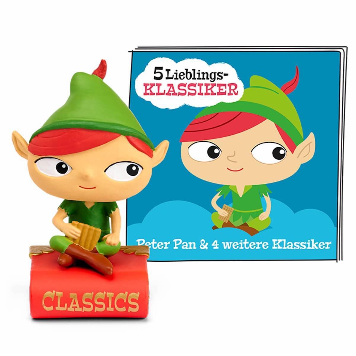 Hörspielfigur TONIES 5 Lieblings-Klassiker Peter Pan u.a.