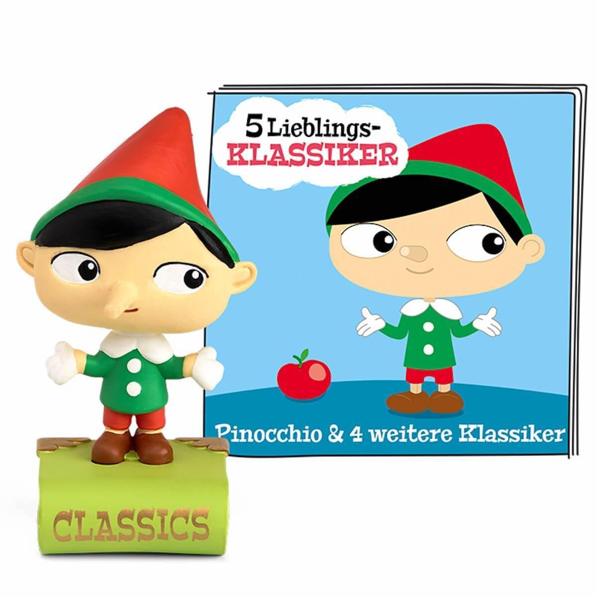 Hörspielfigur TONIES 5 Lieblings-Klassiker- Pinocchio u.a.