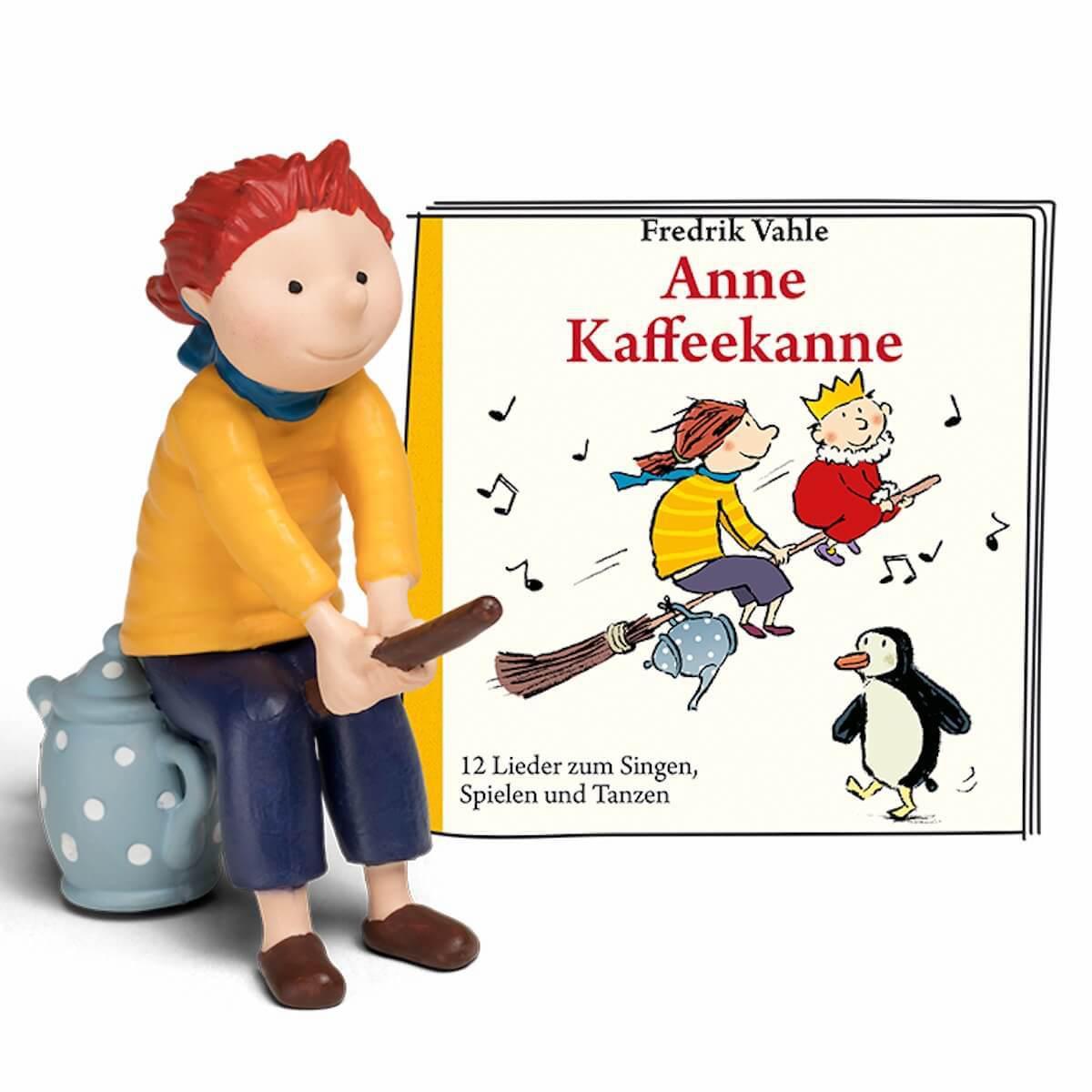 Hörspielfigur TONIES Anne Kaffeekanne 12 Lieder