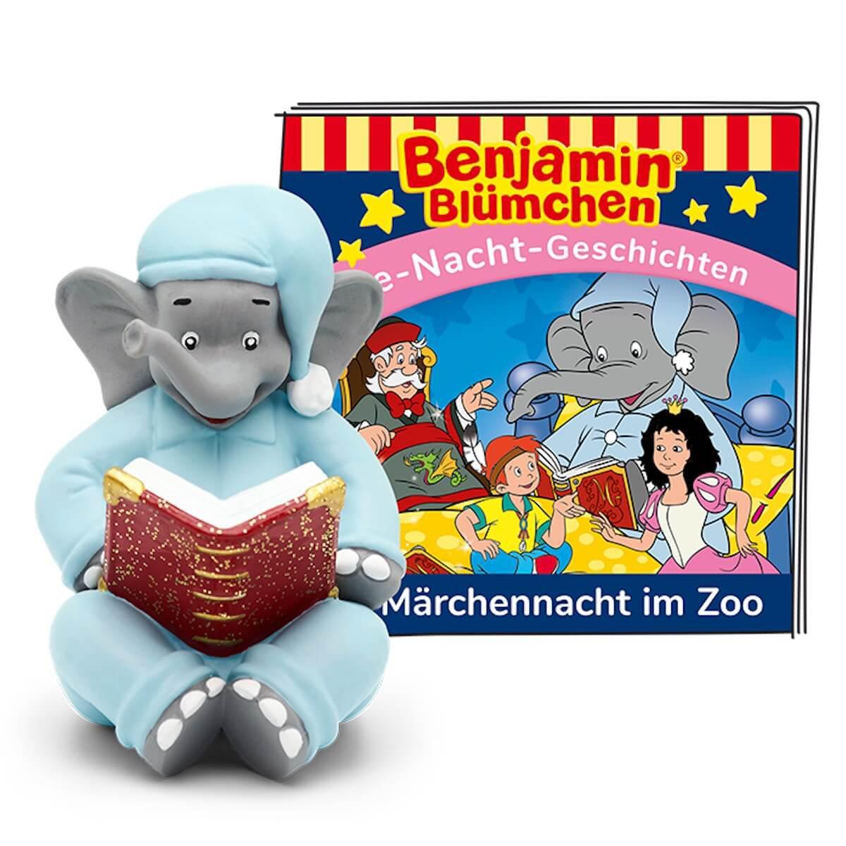 Hörspielfigur TONIES Benjamin Blümchen Märchennacht im Zoo