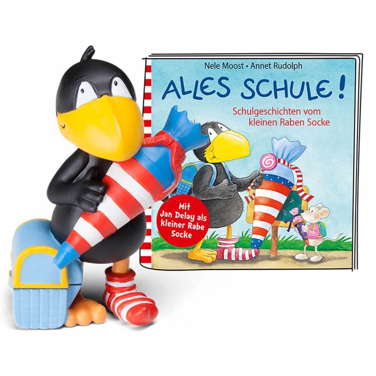 Hörspielfigur TONIES Der kleine Rabe Socke Alles Schule!