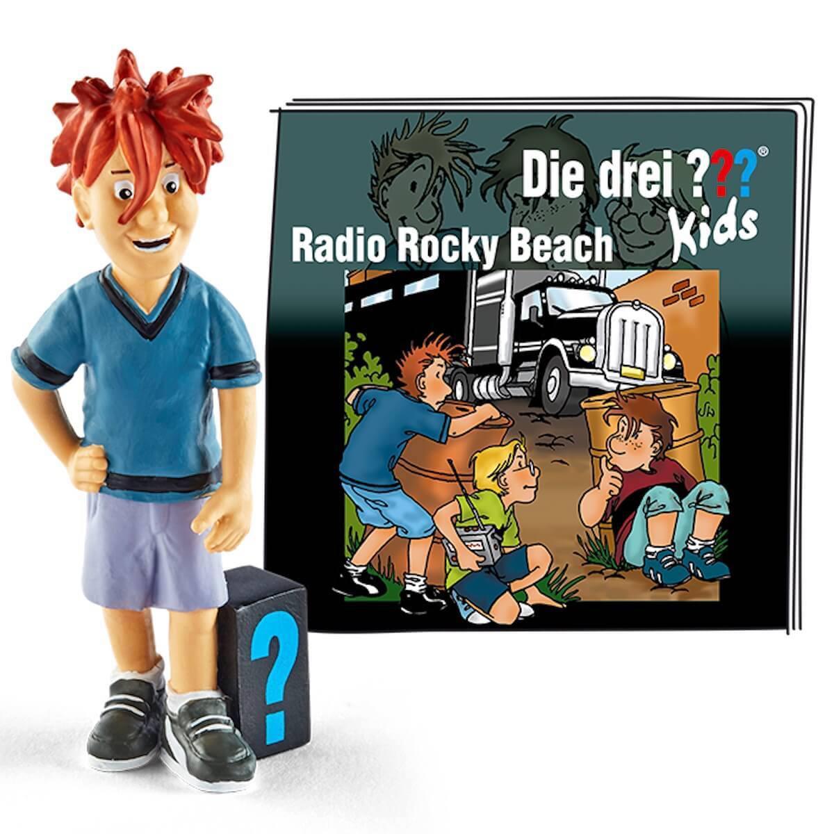 Hörspielfigur TONIES Die drei ??? Kids Radio Rocky Beach