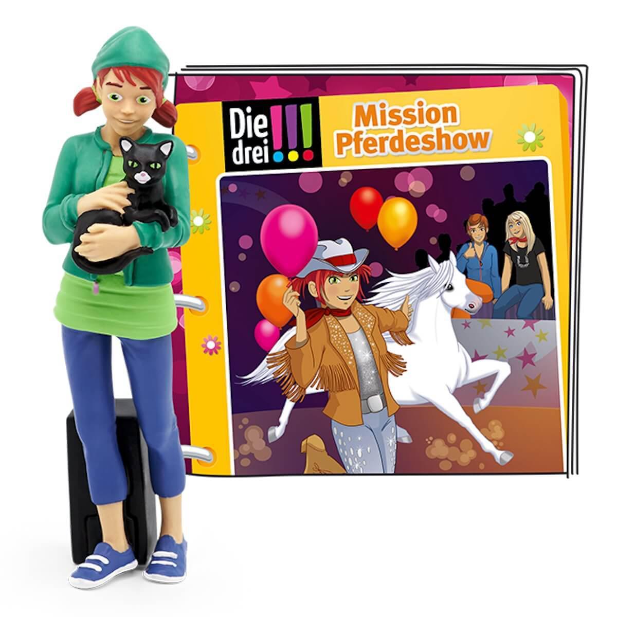 Hörspielfigur TONIES Die drei !!! Mission Pferdeshow