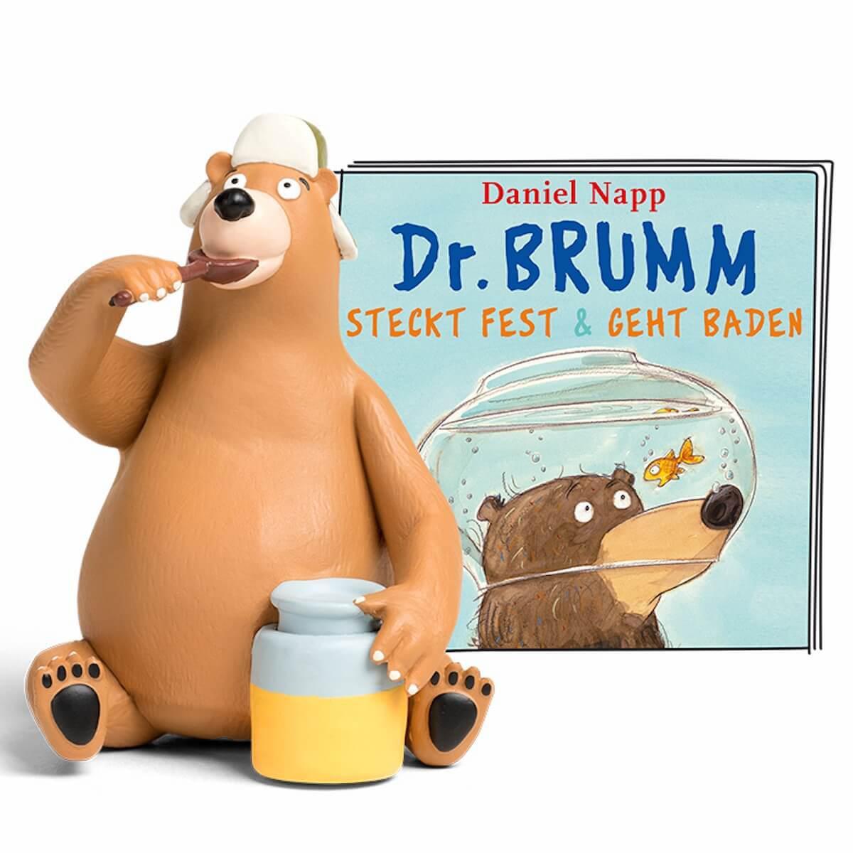 Hörspielfigur TONIES Dr. Brumm Dr. Brumm steckt fest / geht baden