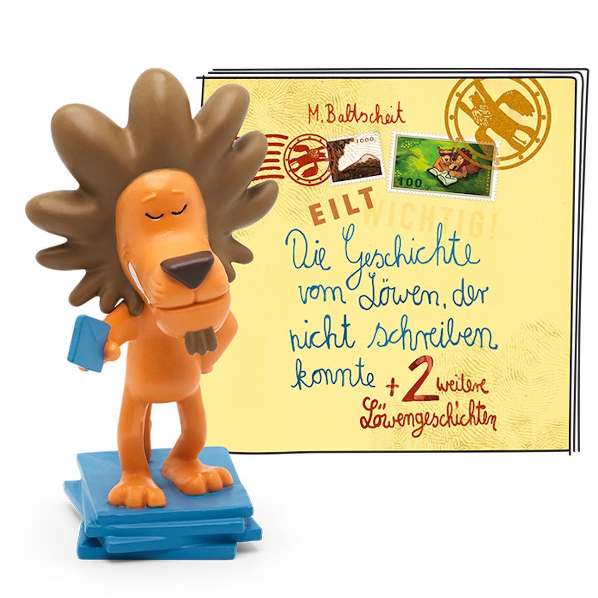 Hörspielfigur TONIES Geschichten vom Löwen -Der Löwe, der nicht schreiben konnte und zwei weitere Löwengeschichten