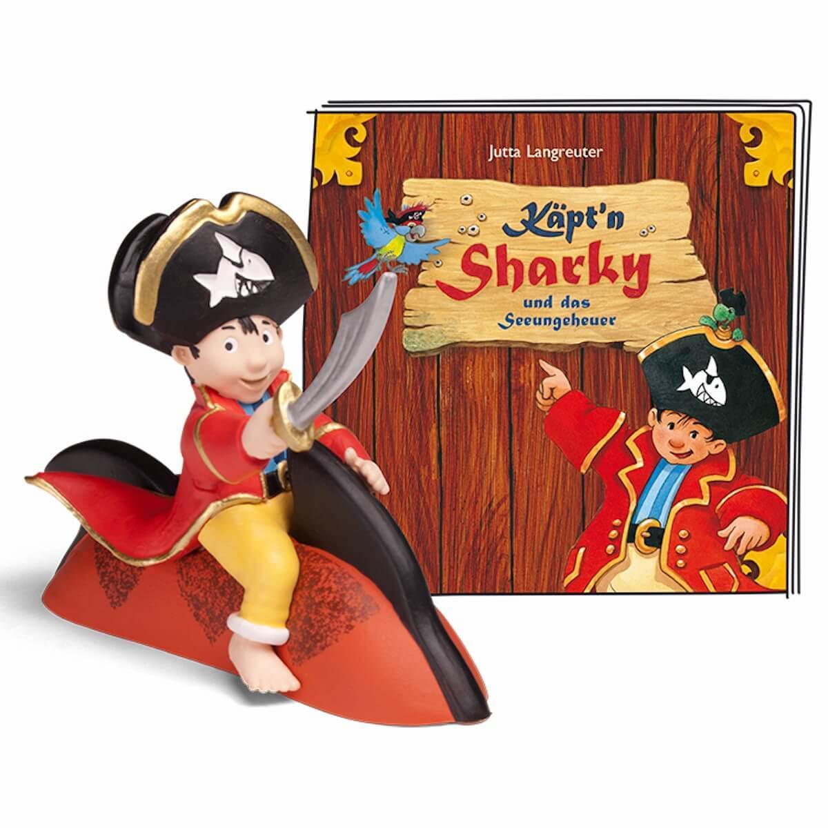Hörspielfigur TONIES Käpt'n Sharky Sharky & das Seeungeheuer